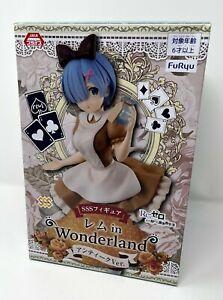Re:Zero Starting Life in Another World SSS Figure REM in Wonderland