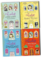Violet Solve The Case 4 Books Collection Set - Mummy, Pearl, Smugglers, Treasure