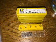 KENNAMETAL TPGE 731 TPGN 09 02 04 KC950  QUANTITY 5 CARBIDE INSERTS