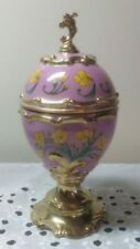New listing The Franklin Mint House Of Faberge Buttercup Musical Egg - Tonight We Love + box