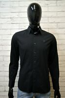 Camicia Blu G-STAR RAW Uomo Taglia Size S Maglia Manica Lunga Shirt Man Casual