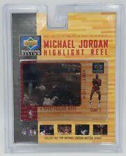 Upper Deck Diamond Vision Michael Jordan Highlight Reel A Spectacular Move
