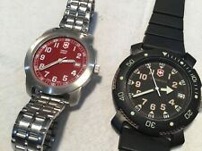 Victorinox and Swiss Army Woman's Watches - 2 watch lot