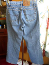 30x30 Actual  FIT True Vtg 80s Levis 550 Stonewash Bootcut Mens Denim Jeans USA