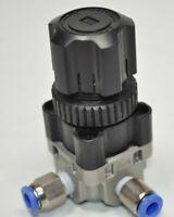 "SMC ARX20-01P Air Regulator Supply: 2MPa Max, Set Pressure: 0.05-0.85MPa, 1/8"""