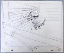 Original Animation Drawing, Tom and Jerry Cartoon, Texas Tom, 1950: Tom.