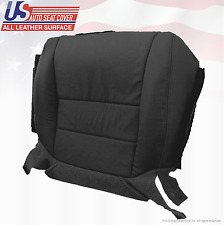 2006 Acura TL Front Driver Bottom Replacement Cover Perforated Leather Black