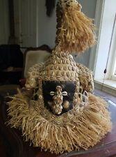 SALE!! Kuba Mukenga Moshambwooy African Helmet Congo DRC Africa