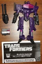 Transformers Generations Shockwave Fall Of Cybertron