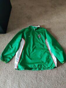 2004 Nike Climafit Mexico Soccer windbreaker Jacket Green Mens XL/XXL El tri