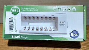EBL Smart Charger For AA/AAA/NI-MH/NI-CD Rechargeable Batteries