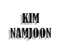 KPOP BTS KIM NAMJOON STICKERS.NEW