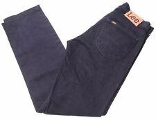 LEE Mens Jeans W31 L34 Black Cotton Straight  GO10