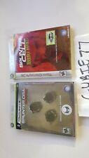 Tom Clancy's Splinter Cell Conviction + Double Agent Collectors Ed. Xbox 360 NEW