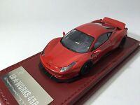 1/43 Hi-Story Ferrari 458 LB Works LB458 Liberty Walk Red LBA101RE