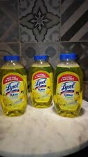 LYSOL Multi Surface Cleaner 3 pack  Concentrate LEMON 10.75 oz fast shipping