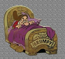 Grumpy Dwarfs at Bedtime Pin - Disney Auctions Pin LE 100