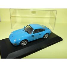 PORSCHE 911 COUPE 993 Bleu 1995 MINICHAMPS 1:43