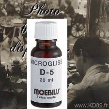 moebius huile suisse graphité de haute qualité 20 ml D5  micro gliss