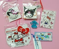 Sanrio Hello Kitty Kuromi Cinnamoroll Charmmy Kitty etc. Cute Gifts 6pcs