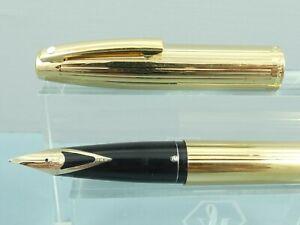 Vintage Sheaffer Triumph Imperial 797 23K Gold Fountain Pen,14K Nib,Box *Ex Cond