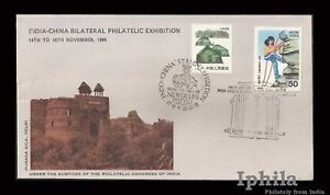 India China bilateral stamp exhibition Special Cover 1986 architecture monument