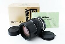 Nikon Nikkor Ai 135mm f/2.8 Telephoto Lens From JAPAN [Exc++++]
