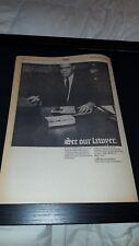 Perry Mason Rare Original 1968 CBS Television  Promo Poster Ad Framed!