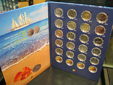 Latvia PRE-EURO Latu Book from Salmon Fish to Parity with coins, Rare