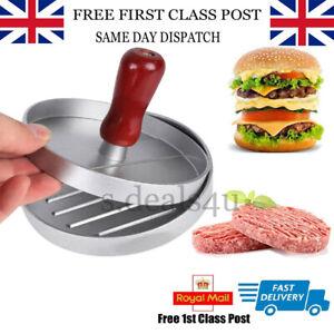 Non-stick Hamburger Press Burger Meat Beef Grill Patty Maker Mould Kitchen Pro