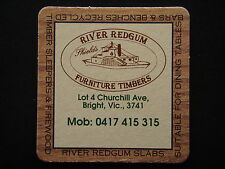 RIVER REDGUM FURNITURE TIMBERS LOT 4 CHURCHILL AVE BRIGHT VIC COASTER