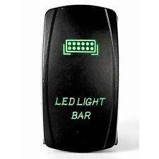 Tuff LED Lights - 2 way Rocker Green Light Bar LED Switch