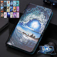 For Samsung Galaxy Note20 Ultra A11 A51 A71 Leather Wallet Flip Stand Case Cover