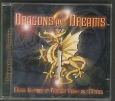 DRAGONS AND DREAMS 2-CD PROG Kayak Pavlov's Dog Sally Oldfield Argent Kansas