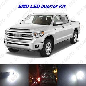 18 x Ultra White LED interior Lights Kit for 2007-2018 2019 2020 Toyota Tundra