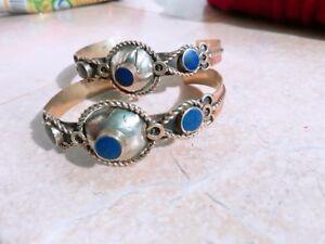 Afghan Kuchi pair  cuff Bracelet , tribal bracelet boho style