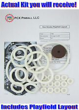 1968 Chicago Coin Gun Smoke Pinball Machine Rubber Ring Kit