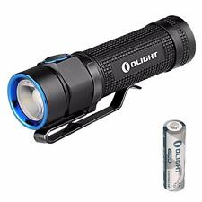 Olight S1A Baton Small EDC LED Flashlight - 600 Lumens w/ 1x AA [ S1 S1R S10 ]