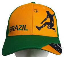 Brazil Brasil Soccer Player Baseball Hat Cap Casquette