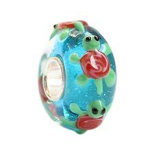 1Tier Glas Bead für Armband/Kette*Großloch Perlen*Beads*Modularmband Schildkröte