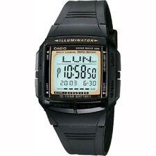 Casio DB-36-9AV Telememo Black Digital Watch with Casio Box Included