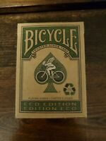 Bicycle® Eco Edition Playing Cards made with papers from a sustainable forest