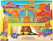 Play-Doh Ocean Adventures Mega Set With 10 Packs Dough & 20 Tools  *NEW*