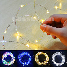 10M 100 LEDs String Light Battery Operated Xmas Lights Party Wedding Decoration