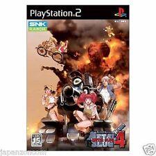 Used PS2 Metal Slug 4 SNK SONY PLAYSTATION 2 JAPAN IMPORT