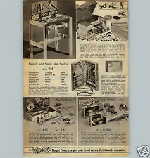1967 PAPER AD Lego Model Makers Truck Tractor Buddy L Car Auto Carrier