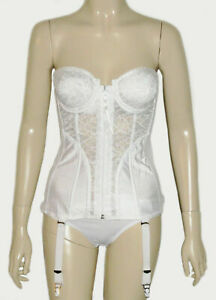 Frederick's of Hollywood,Strapless Underwire Lightly lined  Corset Bustier Bra