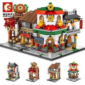 4pcs/set Sembo Blocks Kids Building Toys Girls Boys Puzzle 601061-601064 no box