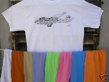 """Grumman A6E """"Intruder"""" Tshirt Sz XL FREE US S&H!!"""