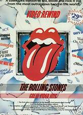 Rolling Stones 1984 Promo Ad Sex Blood & Rock N Roll